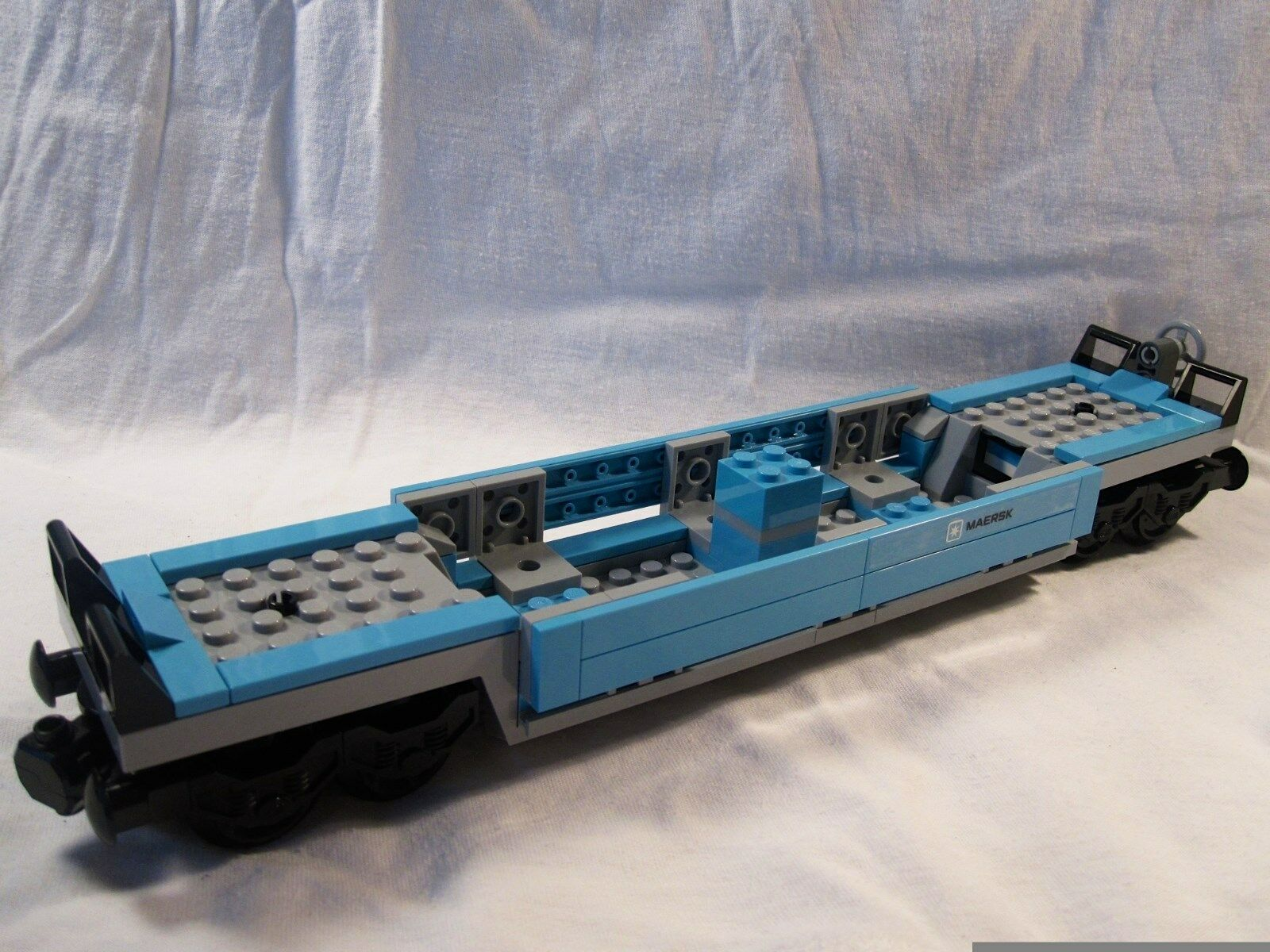 Lego Train City Creator Maersk Flatbed Wagon Car Mint 10219/10233/10194