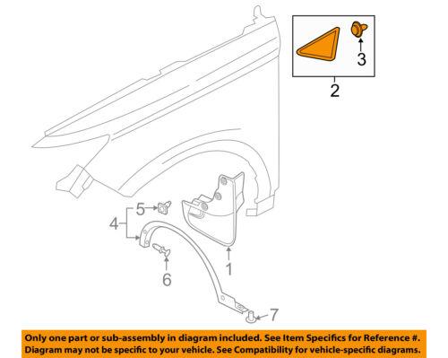 Lincoln FORD OEM 15-16 MKC Fender-Upper Molding Trim Left EJ7Z16004BA