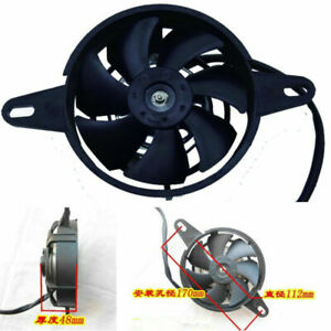Motorcycle Cooling Fan Electric Engine Radiator Cooling Oil Cooler Water Cooler