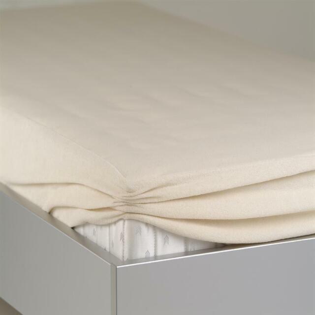 24-Bedding Wasserdichtes Spannbettlaken Spannbetttuch Molton 100 x 200 cm
