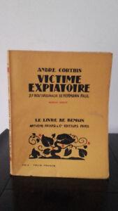 Andre-Ver-Victim-Expiatiore-1926-Edicion-Artheme-Fayard