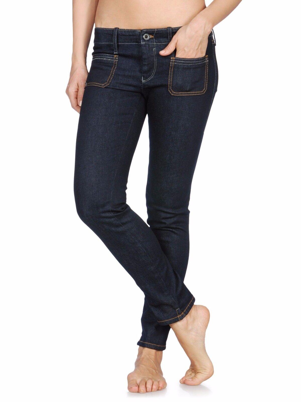 Diesel + Edun Ed Paty Ankle Stretch Cotton Jeans Pants Trousers Denim 30  228