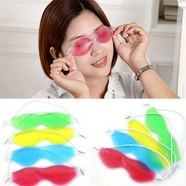 Gel Eye Mask Cold Pack Warm Hot Heat Ice  Soothing Tired Eyes&Headache Pad SEWG