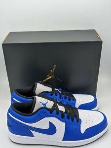 air jordan 1 low blue toe