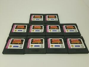 10 LOT NEW Loose Sports Triva games for Sega Game Gear  G46