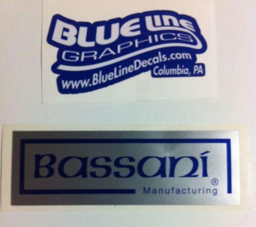 Bassani vintage reproduction Decal ATC TRX LT 250R 250 350X 200X KXT CR KX RM