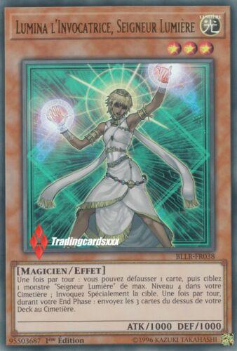 BLLR-fr038-vf//ultra rare ♦ yu-gi-oh lord light ♦ lumina the invocatrice