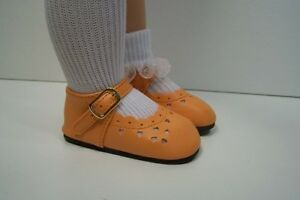 80mm RED T-Straps fit Tonner Katie Doll Shoes