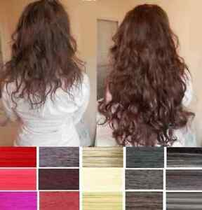 Full-Head-Straight-Wavy-Clip-In-Hair-Extension-Long-ponytail-Extensions-Colours