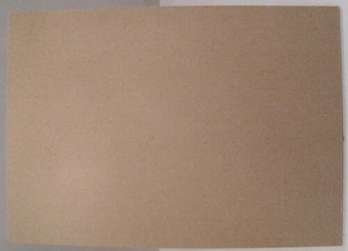 Medite MDF Lazer Board A4 Size 1 x Sheet 3mm Thick x 297mm Long x 210mm Wide 1s