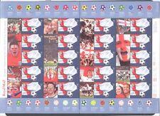 WORLD SOCCER CUP UNITED KINGDOM GREAT BRITAIN 2002 Scott 2055, SHEET OF 20, MNH