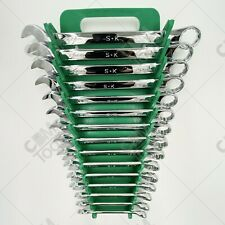 Sk Hand Tools 86265 15pc 12pt Metric Combination Wrench Set