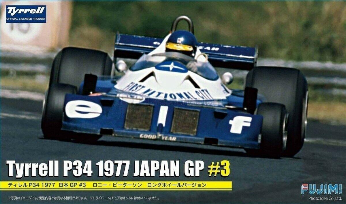 fantastica qualità Fujimi 090900 Tyrrel P34 1977 Japan GP    3 1 20 modellololismo  prendi l'ultimo