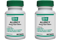 Medinatura Bhi Allergy 100 Tabs (paks Of 2)
