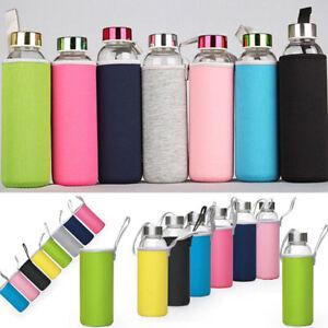 Sport-Water-Bottle-Cover-Neoprene-Insulated-Sleeve-Case-Bag-Pouch-for-280-550mL