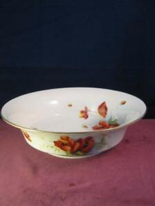 Wonderful Royal Worcester Fruit Bowl Hand Painted & Signed Poppies ...