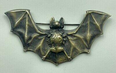 Bat Brooch