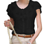 Summer-Womens-Chiffon-Undershirts-T-Shirt-Sleeveless-Tunic-Tops-Blouse-Shirt thumbnail 3