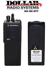 Motorola MTX9000 900Mhz Radio Type2 Trunking HAM POLICE FIRE EMS H01WCC4DB3AN
