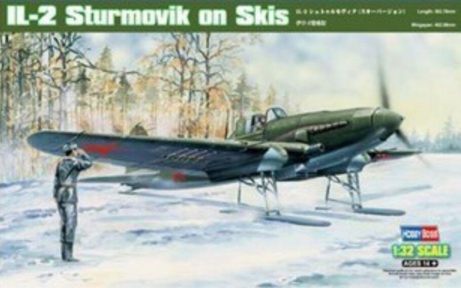 Hobbyboss 1 32 83202 IL-2 Sturmovik on Skis