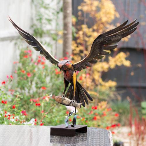 Flying Eagle /& Fish Large Garden Ornament Decorative Home Decor Statue Sculpture