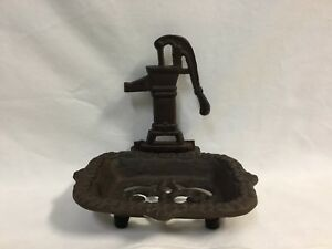 Rustic-Old-Fashioned-Water-Pump-Soap-Dish