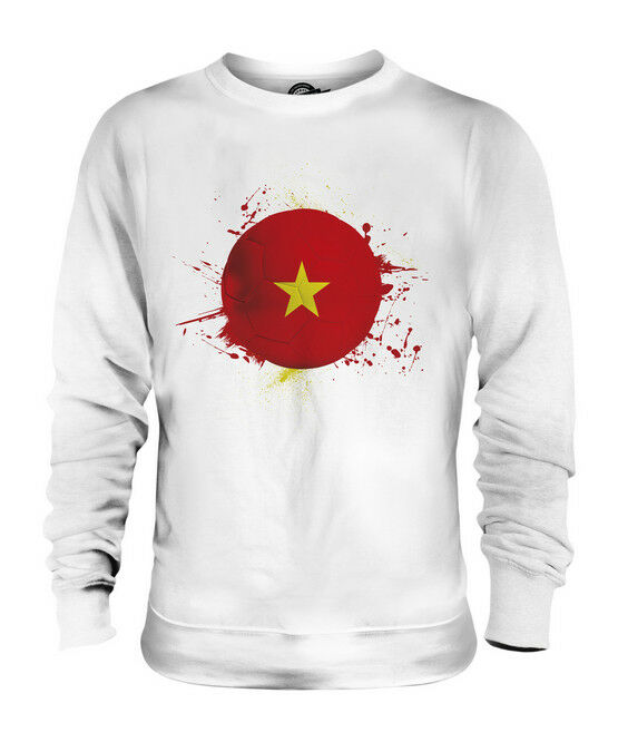 VIETNAM FOOTBALL UNISEX SWEATER  TOP GIFT WORLD CUP SPORT