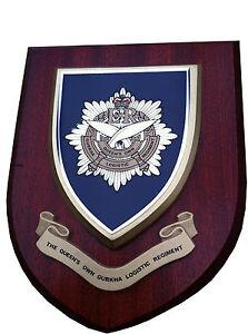 QUEENS OWN GURKHA LOGISTIC CAP BADGE GENUINE BRITISH ARMY ISSUE