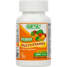 Vegan Multivitamin and Mineral Deva Vegan 90 Tabs