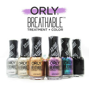 Details About Orly Breathable Treatment Color 0 6 Oz Metallic New Shades Full Collection