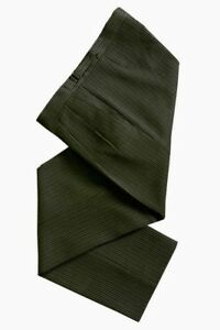 MENS-DARK-GREEN-STRIPE-MORNING-ASCOT-FORMAL-WEDDING-DRESS-TAILCOAT-TROUSERS