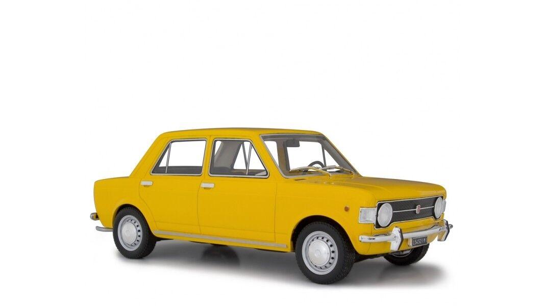 Fiat 128 1° serie 1969 jaune Positano LAUDORACING 1 18 LM112B
