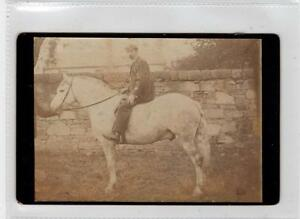 Photograph-of-a-man-on-a-horse-C29284