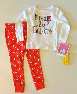 Circo-Toddler-Girls-2-Piece-Pajama-Set-Size-4T-NWT-Dream-Big-Little-One