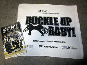 Pittsburgh-Penguins-2014-Playoff-RALLY-TOWEL-game-5-Blue-Jackets-Program-Crosby