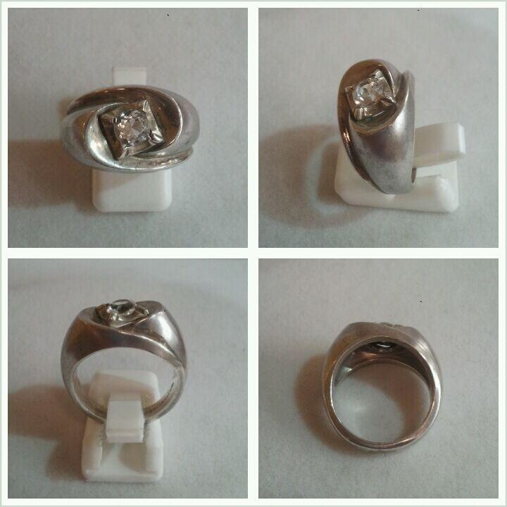BELLISSIMA Anello 925er silver IN CON PICCOLO pietre Accessori