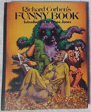 Richard Corben's Funny Book Hardcover HC HB art Rare Den Bruce Jones Nickelodeon