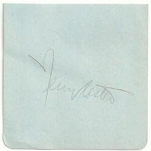 Broadway-Open-House-Actor-Jerry-Lester-d-95-Signed-Auto-Vintage-Album-Page-M7