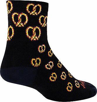 SockGuy Classic Twisted Sock Black LG//XL