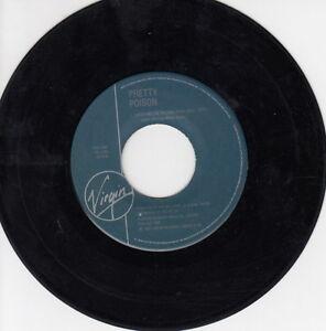 ONE-1987-039-S-45-R-P-M-RECORD-PRETTY-POISON-CATCH-ME-RADIO-MIX-CATCH-ME-SPA