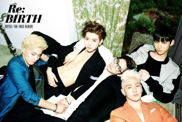 NU'EST - [RE : BIRTH] 1st Album CD+Photo Booklet+Post Card K-POP Sealed NUEST