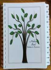 Address Book Birthday Anniversary Organizer Family Tree Record Personalized Gift