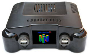 Details about N64 Retropie System w/Front LCD - Powerful 8-Core N64  Emulator - 300 N64 Games