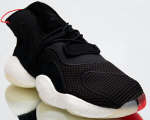 premium selection a96a9 5d496 Image is loading adidas-Originals-Crazy-BYW-Mens-Black-White-Red-