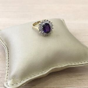 Solid-14k-gold-and-diamond-oval-amethyst-vintage-style-halo-engagement-ring