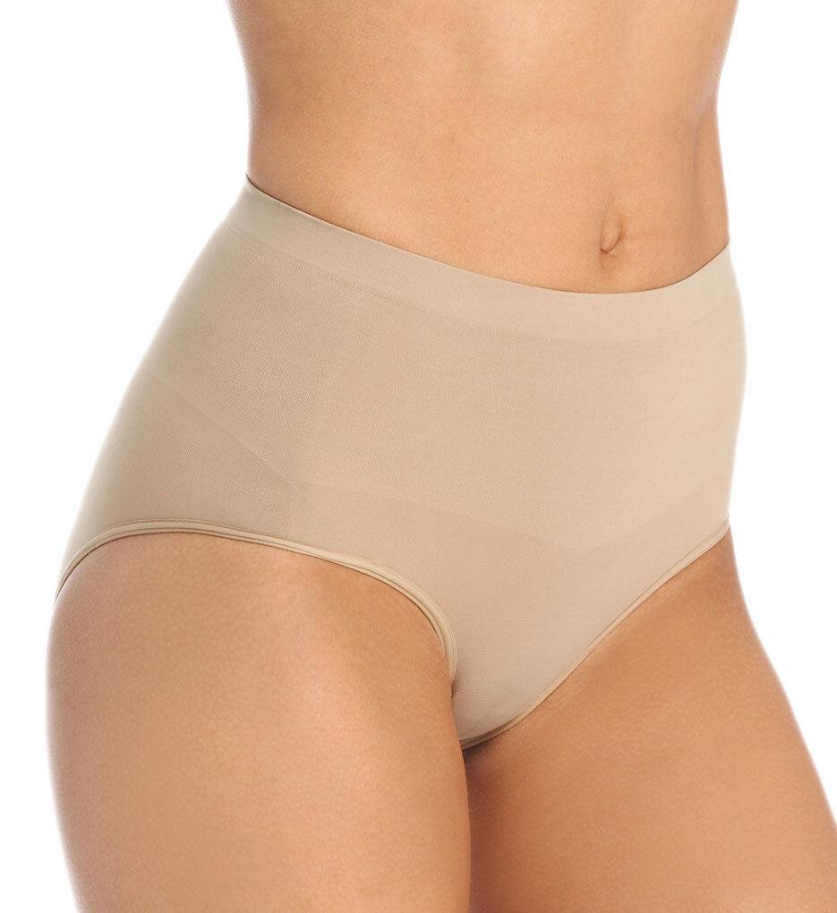 www.prominentresults.com :SH0021 Blass Sport NEW Women's Seamless Shapewear Medium Control Full Brief M PR