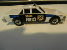 1 voiture miniature state police-en métal-Mattel-CRACK Up hot wheels 1983.