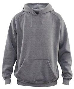 Men's Pullover Ultimate Heavyweight Fleece Hoodie Sweatshirt Blank ...