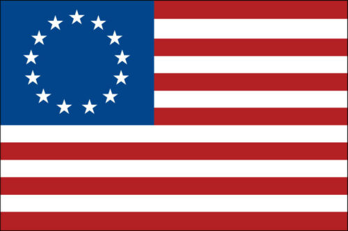 Betsy Ross Nylon Flag Made in the U.S.A.