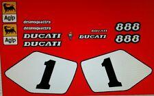 DUCATI 888 SP4  MODEL  PAINTWORK DECAL KIT